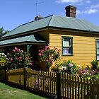 Cottages of Tasmania - Captains Cottage by Gabrielle  Lees