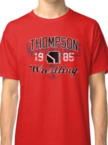 Thompson Wrestling 2 Classic T-Shirt
