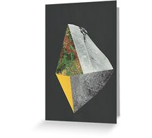 Beyond the Edge 2 Greeting Card