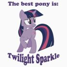 The best pony is: Twilight Sparkle by ALoopyDuck