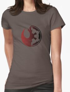 Star wars Rebels or Empire Womens Fitted T-Shirt