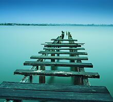 Cleveland Jetty by Tracie Louise
