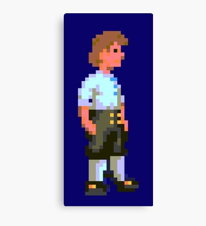 Guybrush (Monkey Island 1) Canvas Print