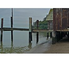 China Camp Pier & Buildings Photographic Print