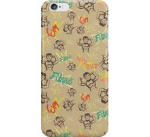 I work out!  iPhone Case/Skin
