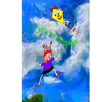 Lets Go Fly a Kite Photographic Print