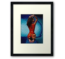 Play me Framed Print
