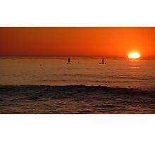 Sunset in San Diego, CA Photographic Print