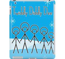 Twiddly Diddly (ice-blue) iPad Case/Skin