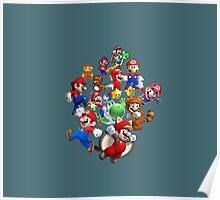 Mario Evolution Poster
