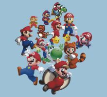 Mario Evolution by sephcornel