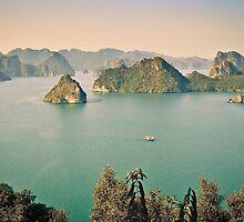 HaLong Bay, Vietnam by Shari Mattox-Sherriff