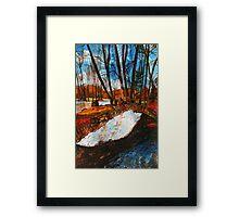Serene French Light of Nature Framed Print