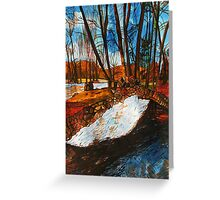 Serene French Light of Nature Greeting Card