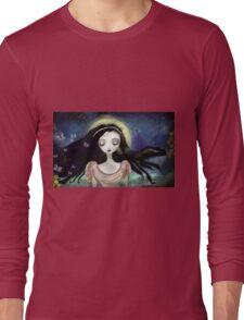 Blue Autumn Long Sleeve T-Shirt