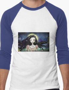 Blue Autumn Men's Baseball ¾ T-Shirt
