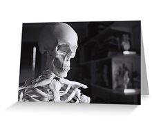 Old Bones Greeting Card