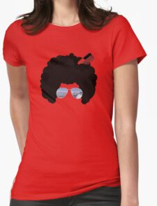 Afro in Innsbruck Womens Fitted T-Shirt