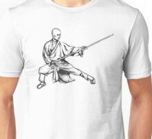 Shaolin Warrior Monk (Kung Fu / Wushu) Unisex T-Shirt