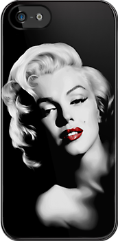 Marilyn Monroe - Apple iPhone 5, iphone 4 4s, iPhone 3Gs, iPod Touch 4g case, Available for T-Shirt man and woman by pointsalestore Corps
