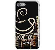 Coffee cup8 iPhone Case/Skin