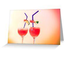 tropicana drink... Greeting Card