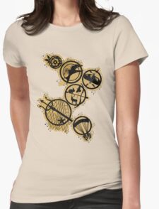 Tribute Pins Womens Fitted T-Shirt