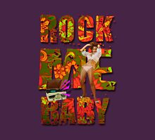 Rock Me Baby (Go-go Girl) Womens Fitted T-Shirt