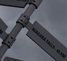 Which Way To Go © Sticker