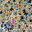 Parc Guell - Barcelona - Spain by Arie Koene