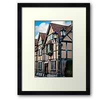 Home Of William Shakespeare Framed Print