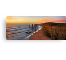 Late Sunset - 12 Apostles Canvas Print