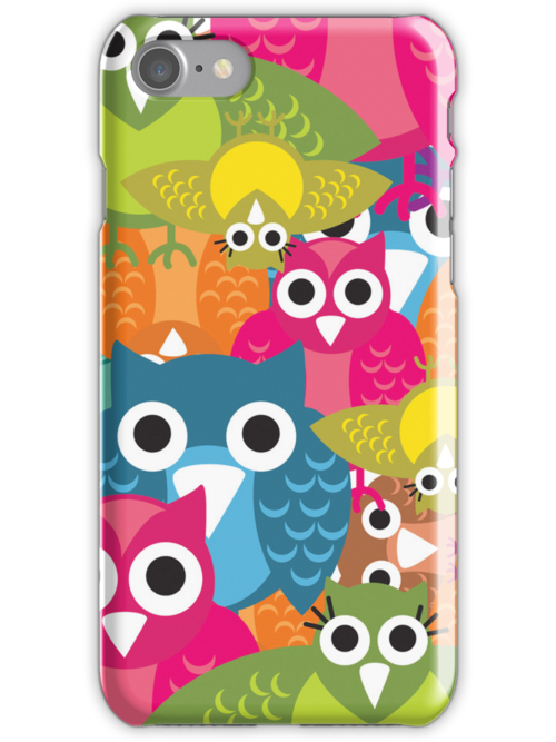 Owlish Iphone Cover by teegs