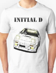 RX-7 Initial D Style T-Shirt