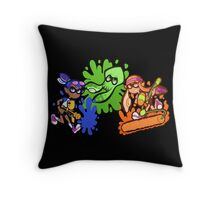 Splatoon! Throw Pillow