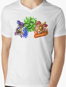 Splatoon! Mens V-Neck T-Shirt