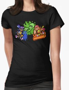 Splatoon! Womens Fitted T-Shirt