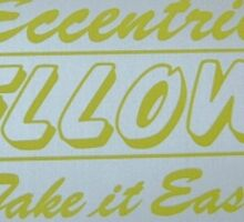 Eccentric Fellows Retro Japan Racing Club Sticker Sticker