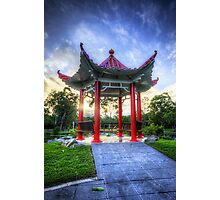 The Red Pagoda Photographic Print