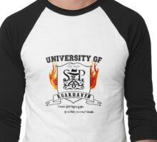 Roarhaven University - Skulduggery Pleasant Men's Baseball ¾ T-Shirt