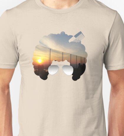 Sunset in Afro Unisex T-Shirt