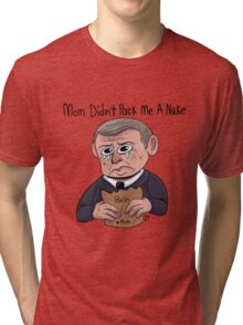 George W. Bush's Lunch Tri-blend T-Shirt