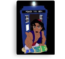 Doctor Who Aladdin mashup - Do you trust me? Canvas Print