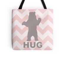 Bear Hug - Pink Tote Bag