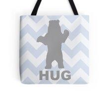 Bear Hug - Blue Tote Bag