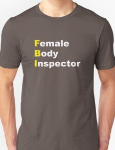 Limitless - Female Body Inspector Unisex T-Shirt