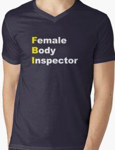 Limitless - Female Body Inspector Mens V-Neck T-Shirt