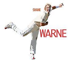 Shane Warne by russellbarnard