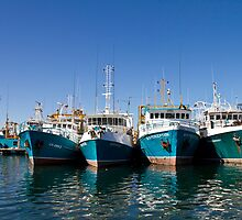 Fishing Boats - Fremantle by pennyswork