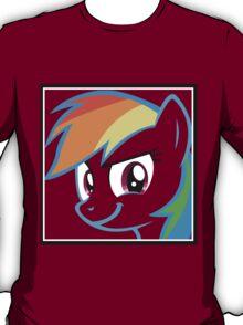 Rainbow Dash Challenge face T-Shirt
